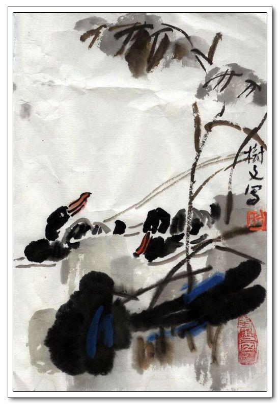 作者:杨树文 杨树文,1936年生人,陕西宝鸡人。1959年毕业于西安美术学院。中国美术家协会会员,书法家,国画家,水彩画家。曾任天津美术学院美术创作设计研究所所长、天津美术学院院刊副主编等职,现任天津美术学院教授、中国白洋淀诗书画院艺术顾问。